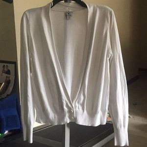 Worthington Long Sleeve Sweater Cardigan L